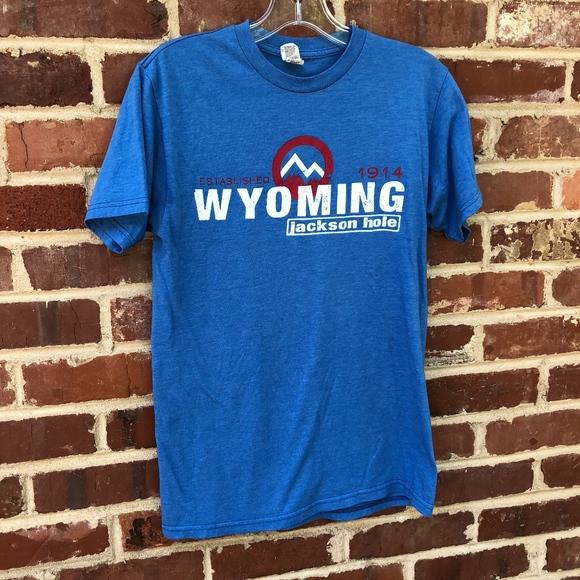 Vintage T-Shirt Jackson Hole Wyoming Shirt Size S